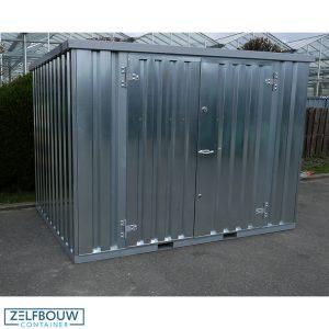 Demontabele Container 4 x 2 dubbele deur lange zijde