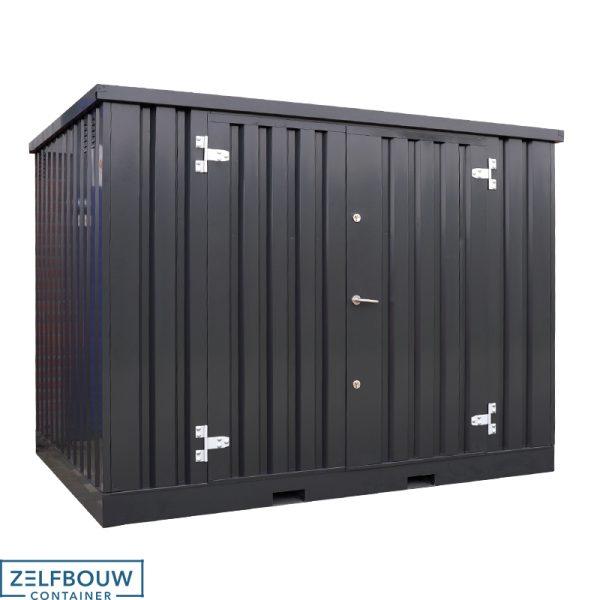Chemische container 4 x 2 - Dubbele deur lange zijde