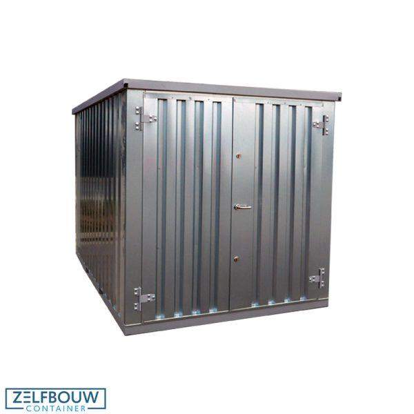 Demontabele Container 4 x 2 dubbele deur korte zijde