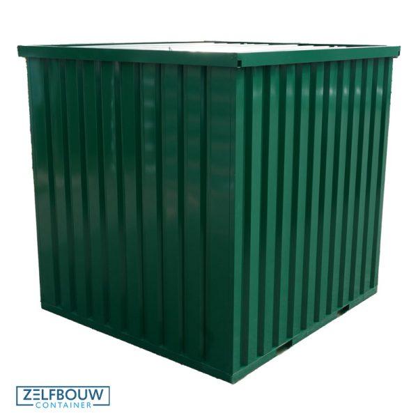 Standaard demontabele container – RAL gekleurde