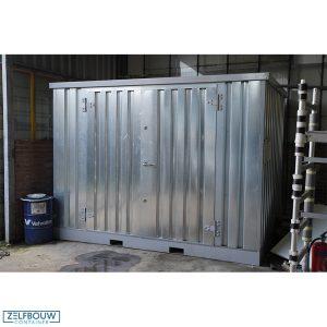 Chemisce opslagcontainer voor gevaarlijk materiaal en gasflessen