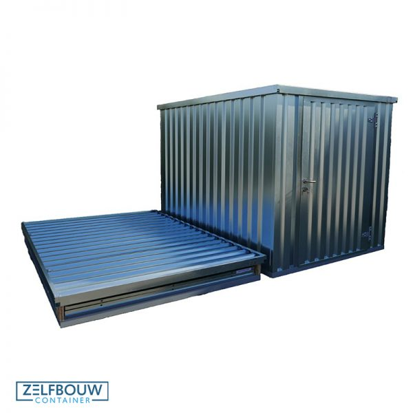 Demontabele container product foto – zelfbouwcontainer