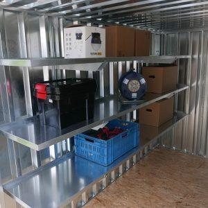 Stevige 3x3 stellingkast voor in al onze zelfbouwcontainer