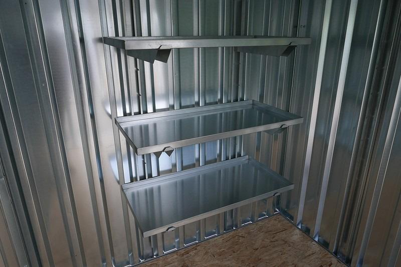 3x1 stelling voor uw container