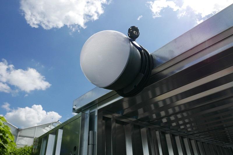 Future ball lamp voor in uw zelfbouwcontainer