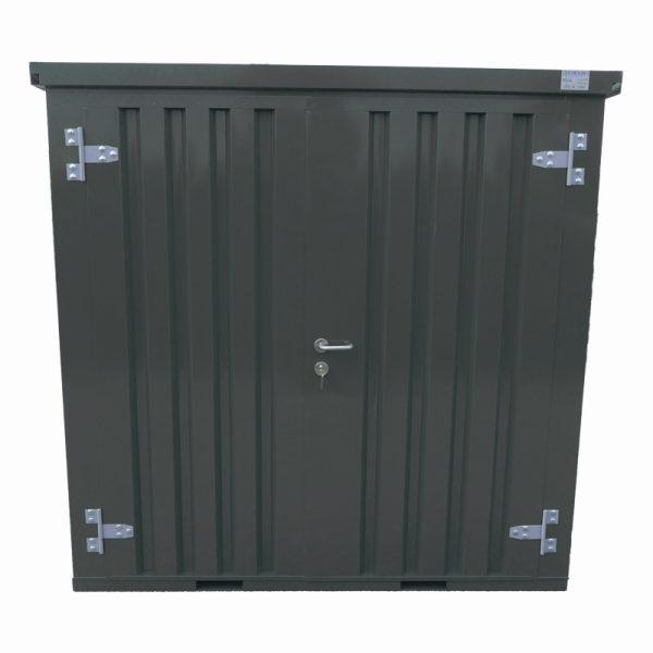 Standaard container 2×2 – DDK- voorkant antraciet