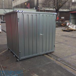 Opslagloods container demontabele unit voor materiaal