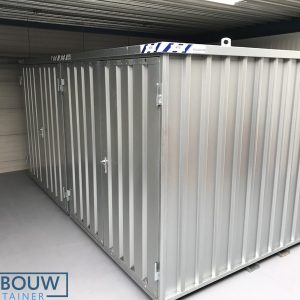 Mobiele staalcontainer 4x2 meter demontabele opslag