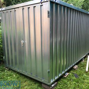 Container tuinhuis voor demontabele opslag