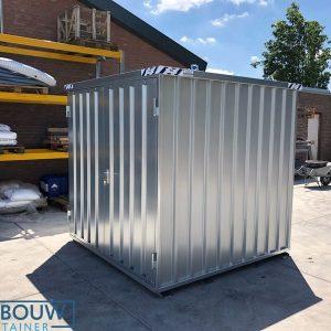 Demontabel opslagmagazijn stalen materiaalcontainer