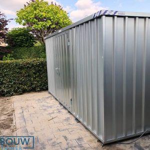 Tuinhuis metalen demontabele container voor extra opslagschuur