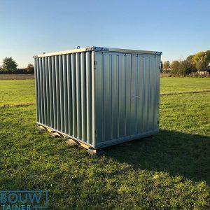 Stalen container opslag demontabel op te bouwen