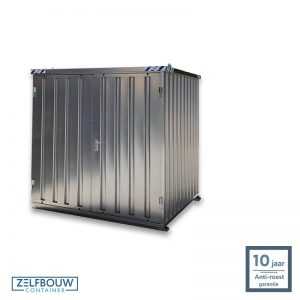 Alternatief tuinhuis duurzame opslag stalen materiaalcontainer