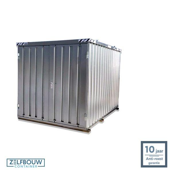 Duurzame opslagcontainer extra opslag op locatie