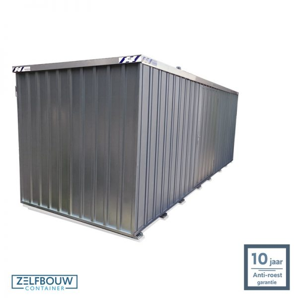 Opslagcontainer 6x2 enkele deur verplaatsbare container demontabel voor opslag