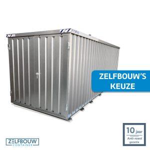 Demontabele Container 6 x 2 dubbele deur korte zijde