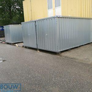 Opslagcontainer demontabele container voor extra ruimte