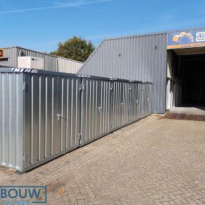 Verplaatsbare opslagruimte demontabele containers