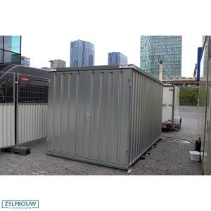 Materiaal opslagcontainer voor buitengebruik