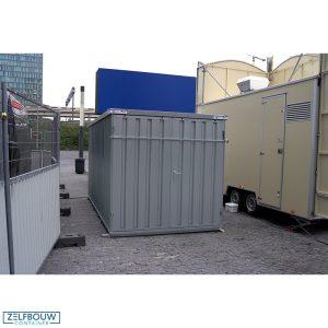 Opslagcontainer met veiligheidsslot demontabele container