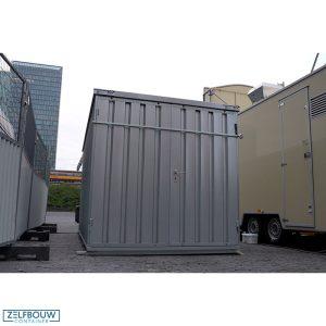 Demontabele container met inbraak beveiliging cijferslot