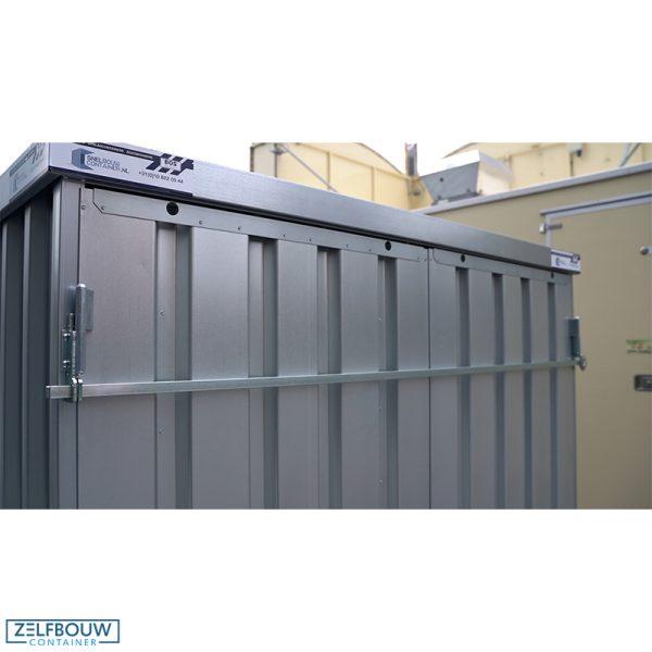 Veiligheidsbalk tegen inbraak voor demontabele container