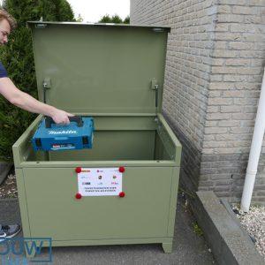 Mobiele box - 300 Liter - In alle RAL kleuren