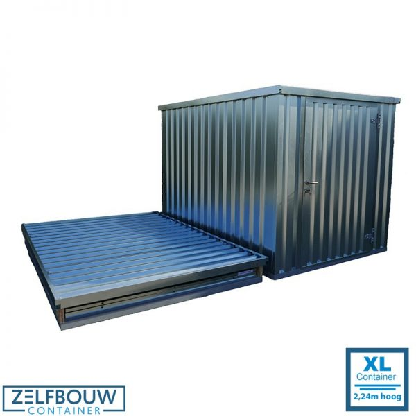 16 ft zeecontainer 3,80 x 2,21 x 2,24 m