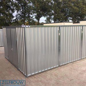 Grote opslagcontainer verhoogd model 3 x 4 x 2,4 m