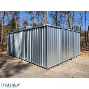 Grote opslagcontainer xxl 5 x 6 meter 6 x 5 meter