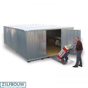 Grote opslagcontainer 3 x 4 x 2,1 m (tweedehands)