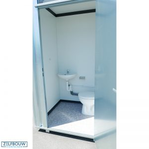 Mobiele sanitair unit toilet 1,4 x 1,25
