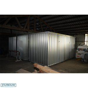 Demontabele materiaalcontainer 5 x 6 meter xxl container