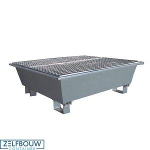 Lekbak voor gevaarlijke stoffen 1200 x 800 x 410 mm (LxBxH)