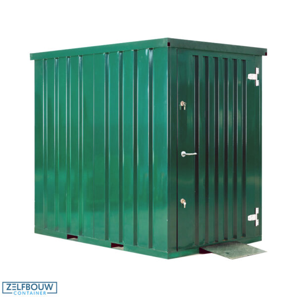 Container Tuinhuis - 1,5 x 2,2m - RAL 6009