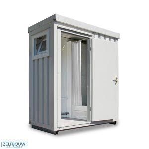 Mobiele sanitair unit douche 2,1 x 1,14
