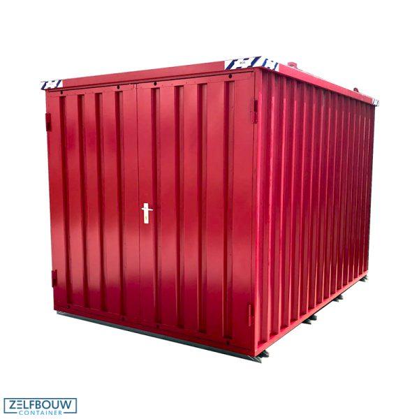 Demontabele Container 3 x 2 enkele deur lange zijde in kleur