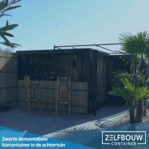 Demontabele bar container 4 x 2 meter 16ft