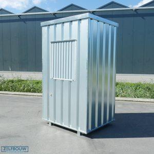 Kassa unit 1,4 x 1,25 met schuifraam