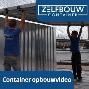 Zelfbouw Demontabele Opslagcontainer