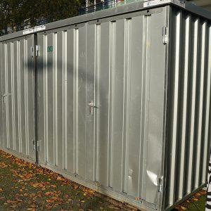 Demontabele Snelbouw Container 3x2 tweedehands - Lichte gebruikssporen