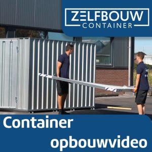 Demontabele Container 4 x 2 enkele deur korte zijde