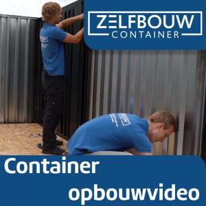 Grote opslagcontainer standaard model 3 x 6 x 2 m