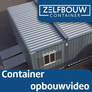 Grote opslagcontainer verhoogd model 4 x 6 x 2,4 m