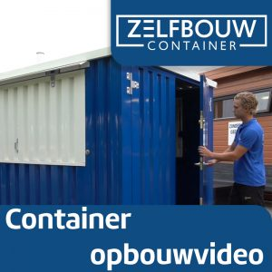 Demontabele bar container 3 x 2 meter 10ft