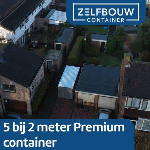 Demontabele Container 5 x 2 dubbele deur korte zijde
