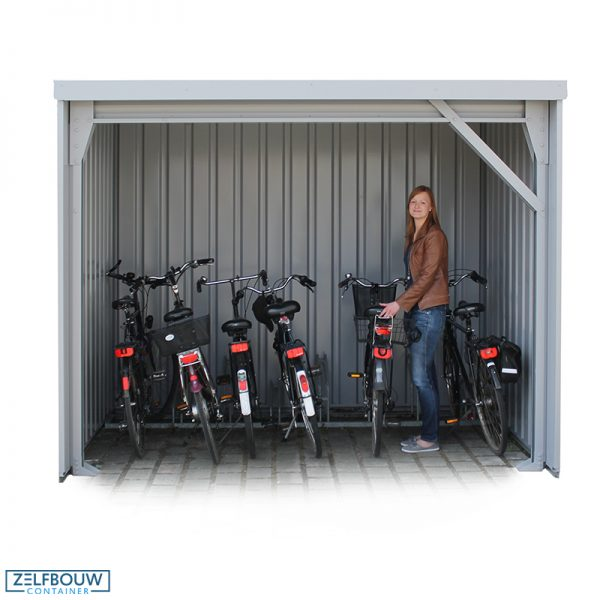 Demontabele fietsenberging fietsenstalling 3 x 2 meter