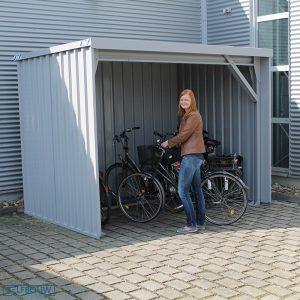 Fietsenstalling tuin kopen fietsenberging fietsenschuurtje