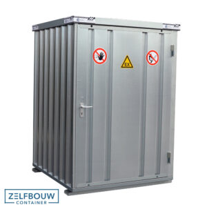 Gas cilinder container 1 x 2 meter