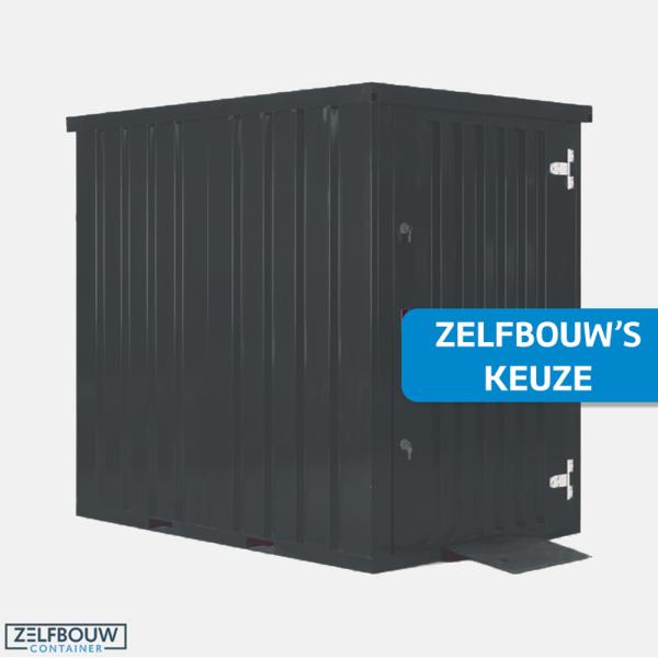 Container tuinhuis 1,5 x 2,2 meter - RAL 7016
